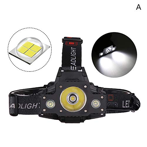 Leoie High Power LED Stirnlampe 4000-4500 lm