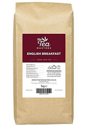 The Tea Masters Loose Leaf Tea Premium English Breakfast 1kg