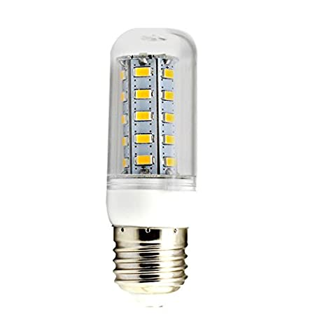 10 pieces,The LED lights corn E265W36LED5730LED110V 220V or with the cooling vents corn lights , white transparent 220V,5W housing