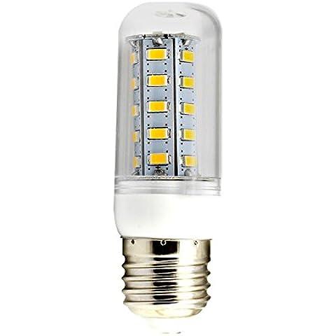 GQF*Las luces LED maíz E265W36LED LED5730110V 220V o con las rejillas de refrigeración , luces de maíz blanco crema de luz 220V,caja de 5W