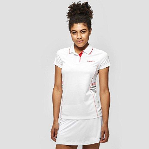 adidas Busto-Vestiti per Club Polo Shirt Tecnica da Donna