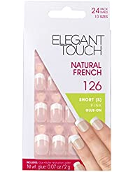 Elegant Touch Natural French Ongles 126 Rosée Taille S