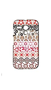 Multicolor Pattern Printed Designer Back Case/ Cover For Moto G