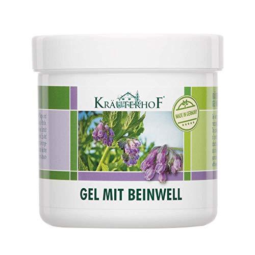 Kräuterhof® Hand und Fuß Gel mit Beinwell, Haut Pflege, kühlend, 250 ml -