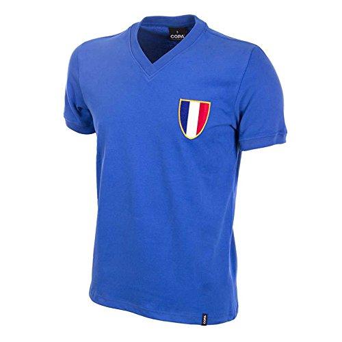 COPA Football - Camiseta Retro Francia Juegos Olimpicos 1968 (M)