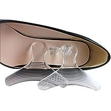 cbb6c6cdb31 Tacón alto grips-shoe acolchada silicona plantilla inserciones talón zapatos  de almohadillas de maletero