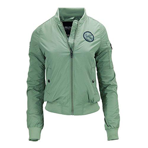 Sublevel - Blouson - Uni - Manches Longues - Femme Vert
