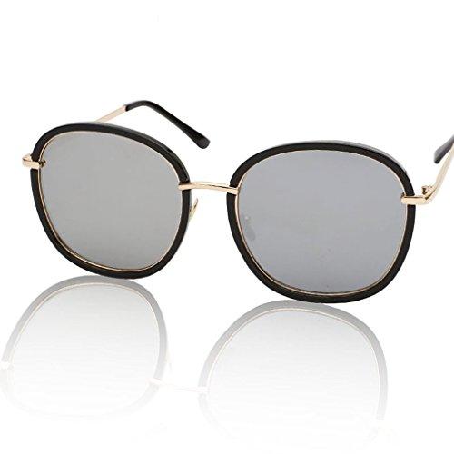 Lym &occhiali protettivi occhiali da sole occhiali da sole polarizzati della versione coreana di big box polarized x5 (colore : b)