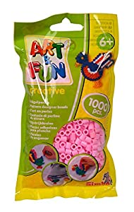Simba 106374422 Art and Fun - Cuentas (1000 Unidades), Color Rosa