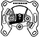 Kathrein ESD 32 3-fach Satelliten-Einzelanschlussdose (FM/TV/Sat-1/Sat-2-Anschluß)