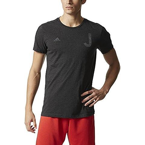 adidas Juventus Gr Tee Bst - Camiseta para hombre, color negro, talla XL