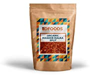 DFOODS Organic Masoor Malka Split Dal, 500g