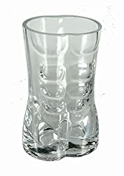 2 Stück, Shooter Glas - Sexy Boy -, Schnapsgläser Schnapsglas