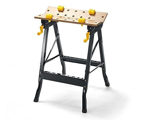 TCM Tchibo Folding Workbench Mobile Workbench Clamping Table Workbench