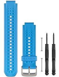 Garmin - Correa para Forerunner 25, color azul, talla L