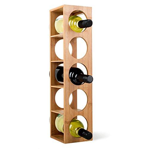 Klarstein Rack No. 3  Weinregal  Weinflaschenregal  Weinständer  Flaschenhalter  Bambus  nachhaltig...