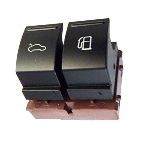 heacker 35D959903 Gas Fuel Tank-Tür-Freigabe-Schalter Taste Automobil-Zubehör Ersatz für Passat CC B6 - Taste Tank