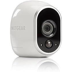 Arlo HD Smart Home Zusatz-Security-Überwachung Kamera (100% kabellos, Indoor/Outdoor, Bewegungssensor, Nachtsicht) weiß