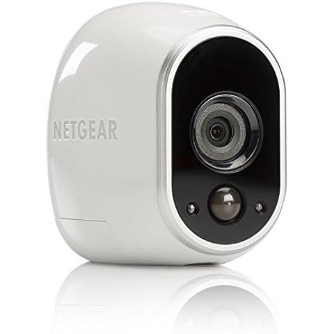 Netgear Arlo VMC3030-100EUS - Cámara IP 100% libre de cables para video vigilancia con visión diurna/nocturna  (cámara adicional, montaje en interior y exterior resistentes al agua, no