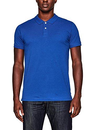 ESPRIT Herren Poloshirt 998EE2K808, Blau (Bright Blue 410), X-Large