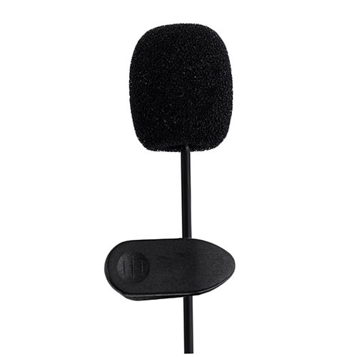 Duk3ichton Durable Lavalier Revers Krawattenklammer 3,5 mm Mikrofon für Smartphone Laptop PC - 3.5 Mm Mobile
