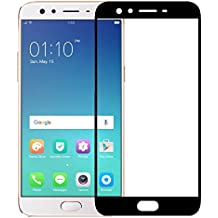 Roxel Premium Crystal Clear HD+ Coloured Tempered Glass For Oppo F3 Plus Black
