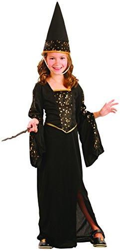 Kostüm: Zauberin 140/152 (10-12 Jahre) (Zauberin Kostüm Kind)