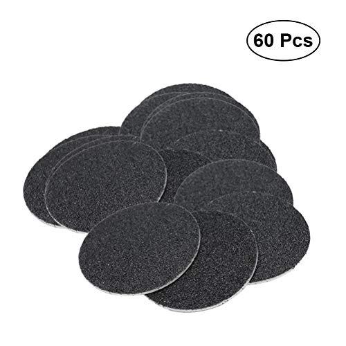 HEALIFTY Disque de remplacement pour papier abrasif pour dissolvant de callosités 60Pcs (spécification 100)