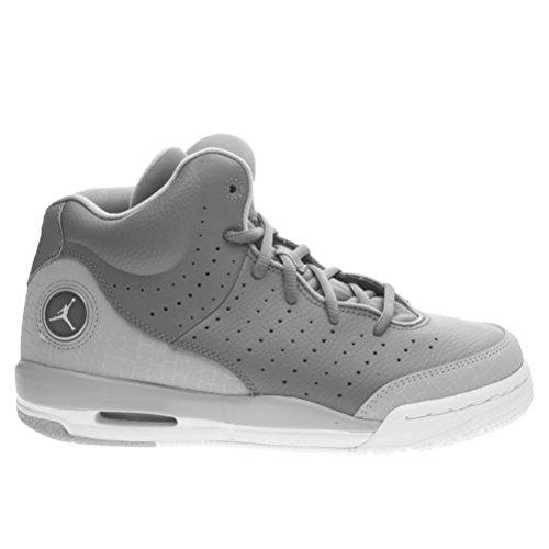 Nike Jordan Flight Tradition Bg, Chaussures de Sport Garçon Gris / blanc (gris froid / blanc - gris loup)
