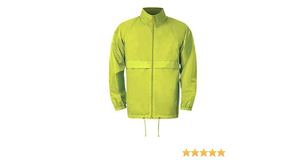 MKR Lightweight Over Jacket Showerproof With Hidden Hood Converts To Waist Bag