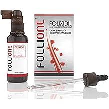 Sérum para crecimiento del cabello | Para hombres | Tratamiento contra la pérdida del cabello y el adelgazamiento capilar | Alternativa del Minoxidil | Dosis para un mes