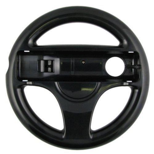 MeterMall New Protable Eastvita? Volante Negro para Juego de Carreras Wii Mario Kart
