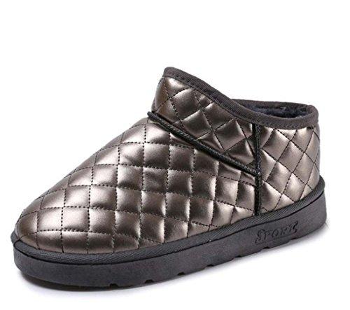 Stivali Da Neve Donna Scarpe Impermeabili Antisdrucciolo Invernale Calzature Da Esterno Calzature Stivali Da Cavallino Sportivo Natural