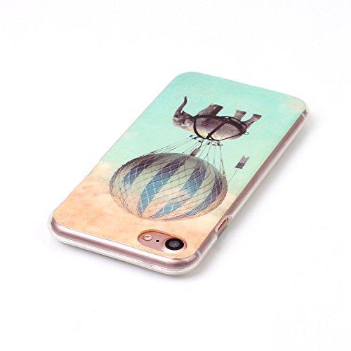 """inShang Hülle für iPhone 7 4.7"""" ,Ultra Schlank und leicht TPU Bequem Schutzhülle Rückcover (Back Case) design für Handy iPhone7 4.7 inch, 26"""