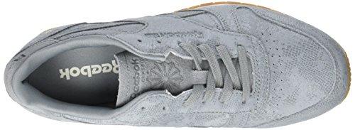Reebok Classic Clean Exotics, Sneaker Donna Grigio (Flint Grey/chalk/gum)