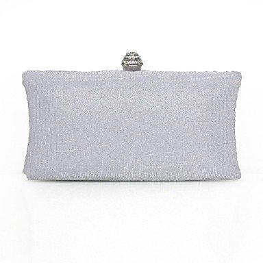 pwne L. In West Woman Fashion Luxus High-Grade Diamdons Abend Tasche Silver