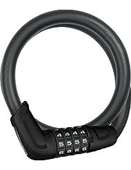 Abus Fahrradschloss 6415C/8/15 BK, black, One Size, 13418-0