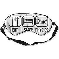 Eat Sleep Physics 99% Eyeshade Blinders Sleeping Eye Patch Eye Mask Blindfold For Travel Insomnia Meditation preisvergleich bei billige-tabletten.eu
