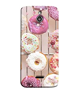 PrintVisa Designer Back Case Cover for InFocus M2 (Assorted Bake Bakery Confectionery Cake Calories Beautiful Circle)