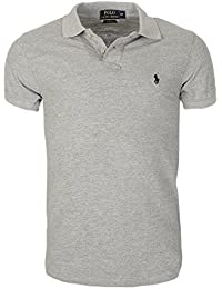 Ralph Lauren Poloshirt small pony, Custom Fit, Homme Multicolore - Large NEW f500b6f1681