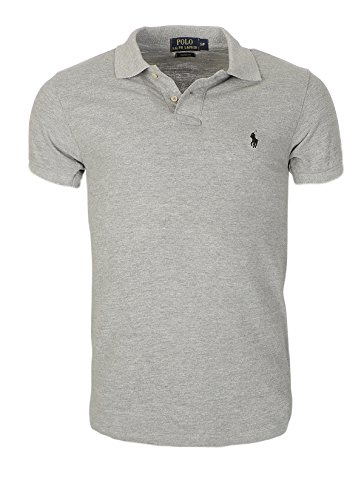 ralph-lauren-poloshirt-small-pony-custom-fit-homme-multicolore-large-new-xxl-gris