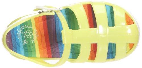 Colors of California, Sandalo jelly soletto multicol, Scarpe basse, Ragazza Giallo (Jaune)