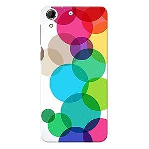 Mobile Back Cover For HTC Desire 728G (Printed Designer Case)