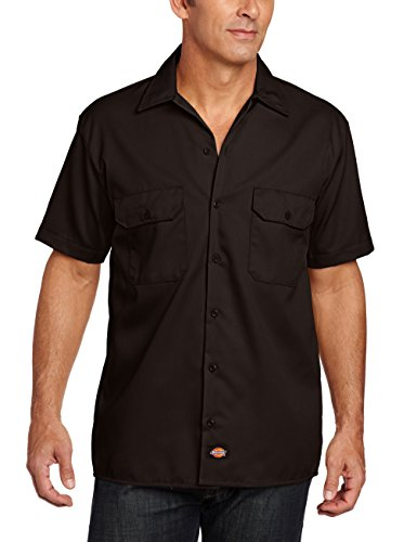 dickies-herren-regular-fit-freizeit-hemd-shrt-s-work-shirt-kurzarm-braun-dark-brown-db-gr-xxxx-large