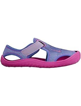 Sandalias y chanclas para ni�a, color Morado , marca NIKE, modelo Sandalias Y Chanclas Para Ni�a NIKE SUNRAY...