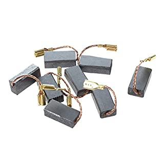 Cikuso 8Pcs 15mm x 8mm x 5mm cepillos electricos de carbono para amoladora de angulo de Bosch