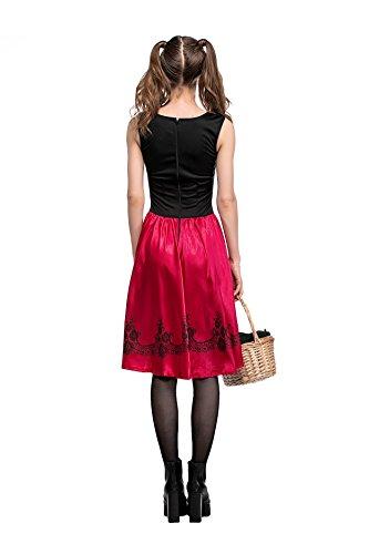 Halloween Frauen Kostüme Hood Little Red Riding (Frauen Kleine Red Halloween Kostüm)