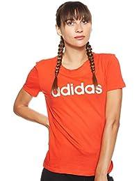 adidas Damen W E Lin Slim T Unterhemd