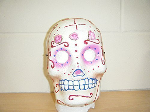 Tag der Toten Mexiko Dia de Muerto Kostüm geschnürt Ringer Maske Erwachsene (Custom Wrestling Kostüme)