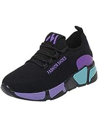 8264aa13f6dd7 ABCone Scarpe Donna sportiva moda Sport piatto Correre caviglia pattini  rotondi esterna scarpe